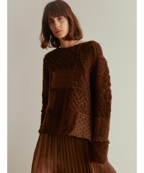 品質は非常に良い ケーブルパッチワークニットプルオーバー(ニット/セーター)|SNIDEL(スナイデル)のファッション通販, EVERY STORE:0125fa92 --- 5613dcaibao.eu.org