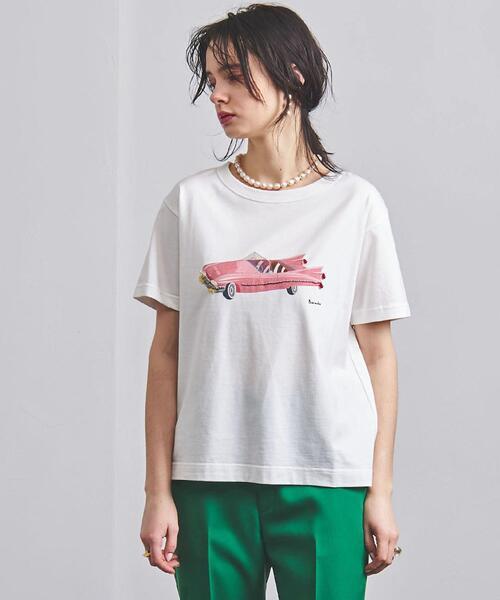 <MUVEIL(ミュベール)>クラシックカー Tシャツ ■■■