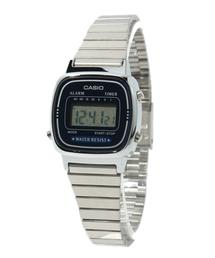 CASIO / デジタル シルバーミニ(腕時計)