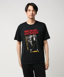 HYSTERIC GLAMOUR(ヒステリックグラマー)のMICHAEL JACKSON/OFF THE WALL プリント Tシャツ(Tシャツ/カットソー)