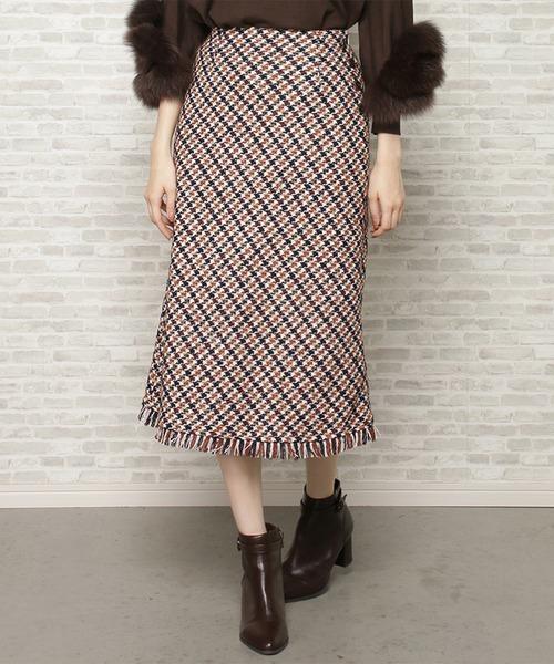 【予約中!】 ガンクラブチェックナロースカート(スカート)|WILLSELECTION(ウィルセレクション)のファッション通販, キソフクシママチ:796d9149 --- blog.buypower.ng