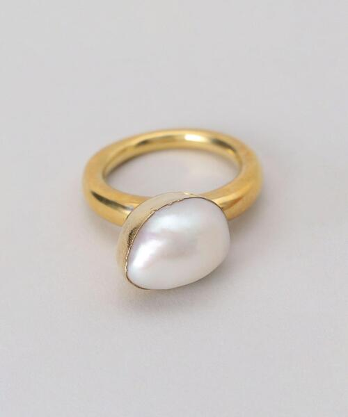 <Preek> BAROQUE PEARL RING SIZE 13 / リング