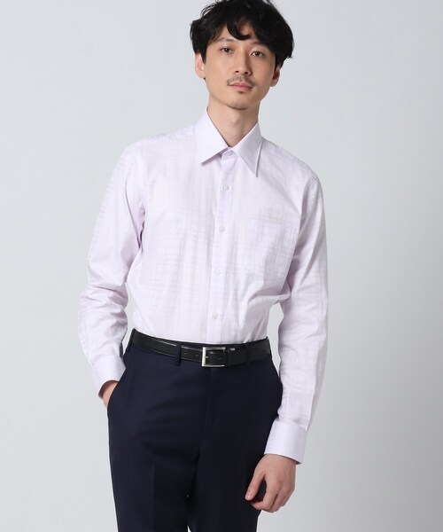 シャドーチェックシャツ