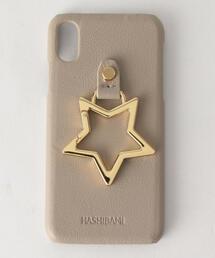 【WEB限定】<Hashibami>∴レザースタースタンドiphoneX/XSカバー