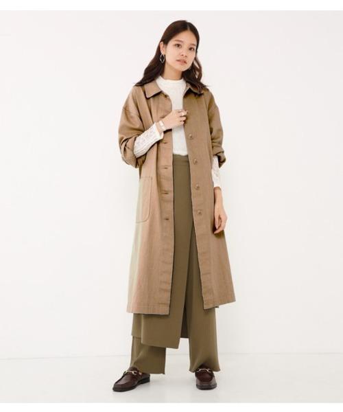 新品入荷 【セール】straight coats(その他アウター)|SHEL