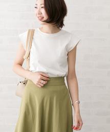 URBAN RESEARCH ROSSO WOMEN(アーバンリサーチ ロッソ)のフレンチTシャツ(Tシャツ/カットソー)