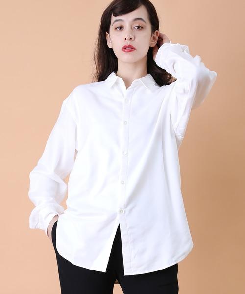 【再入荷!】 【WHITE LINE/ホワイト ライン】Double Cloth Shi/ダブルクロスシャツ, ナチュラル服&雑貨のシュガー 51c229d8