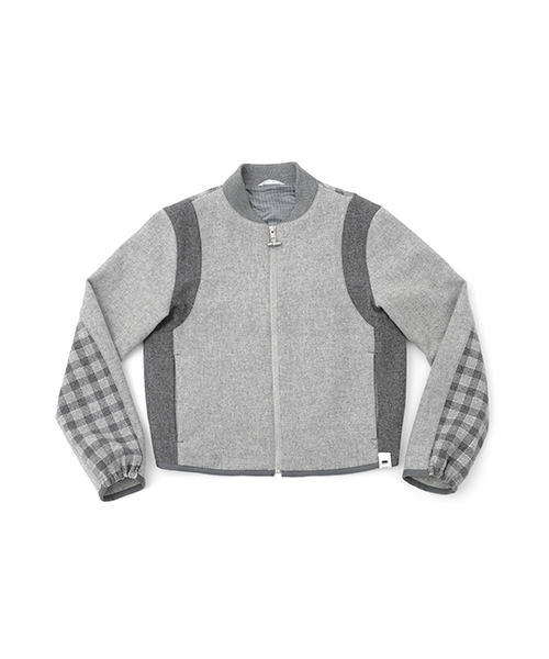 [KOE×THOM BROWNE]WOMENS BOMBER JACKET
