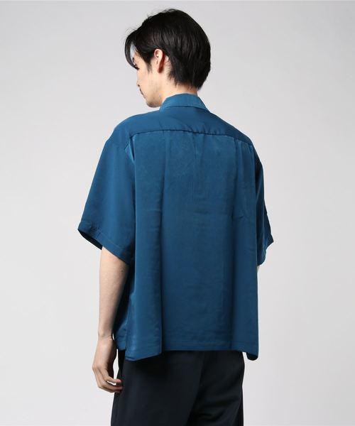 VIBGYOR Select/ ポリハーフZIP半袖シャツ