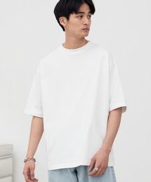 WYM LIDNM(ウィム バイ リドム)の【WYM LIDNM】HEAVY WEIGHT BASIC BIG-TEE/カットソー(Tシャツ/カットソー)