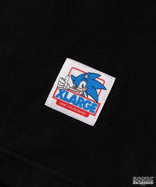 XLARGE(エクストララージ)の「【XLARGE×SONIC THE HEDGEHOG】L/S TEE  STANDARD LOGO(Tシャツ/カットソー)」 詳細画像