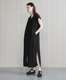 <H>NO SLEEVE DRESS/ワンピース