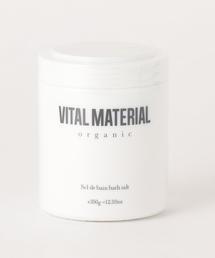 <VITAL MATERIAL>アロマハーブバスソルト CIEL CLAIR(クリアスカイ)