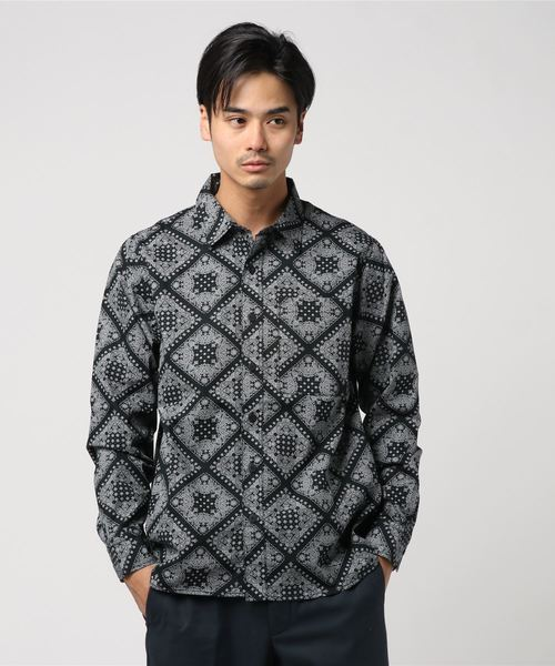 公式の  BxH Paisley BOUNTY L/S L/S Shirts(シャツ/ブラウス) Paisley|BOUNTY HUNTER(バウンティーハンター)のファッション通販, possible:4760ed23 --- dcripajk.gov.pk