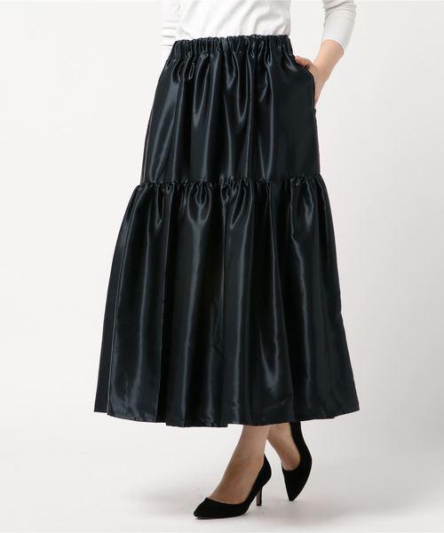 新作人気 マキシギャザースカート, シューズパーラー/shoesparlor 1d6f6fd9