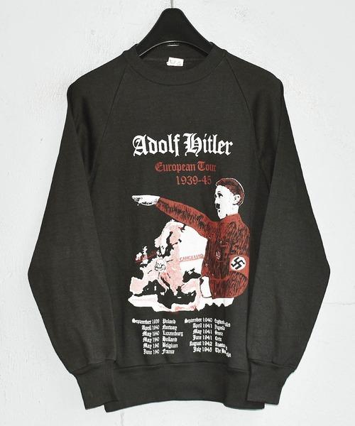 【ヴィンテージ古着】Adolf Hitler/アドルフ·ヒトラー クルーネックスウェット デッドストック