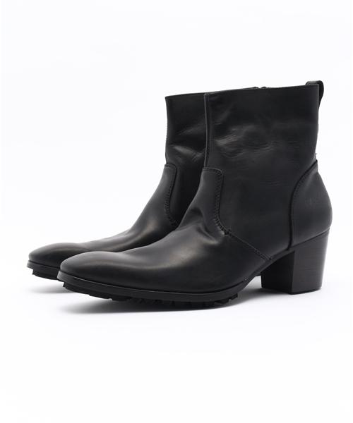 日本未入荷 「YOSUKE/ヨースケ」メンズヒールアップレザーショートブーツ(ブーツ)|YOSUKE(ヨースケ)のファッション通販, 電子タバコのはちみつ通り:841f7abf --- pyme.pe