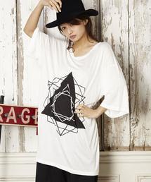 unrelaxing(アンリラクシング)のスーパーオーバーサイズビッグTシャツ ビッグシルエットドロップショルダーTシャツ(Tシャツ/カットソー)