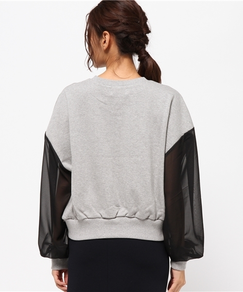 Chica/チカ/See-Through Chenging PullOver