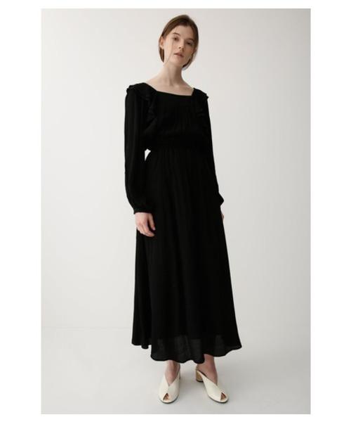RUFFLE DESIGN DRESS