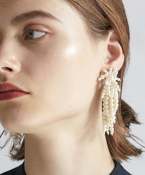 【2019正規激安】 【TOGA PULLA】Pearl motif earrings TP82-AK272(イヤリング(両耳用)) earrings motif TOGA PULLA(トーガ PULLA】Pearl プルラ)のファッション通販, 【正規通販】:45e7f5d4 --- fahrservice-fischer.de