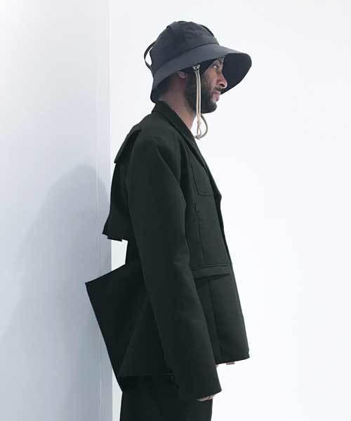 【HAUD】 patchwork double jacket
