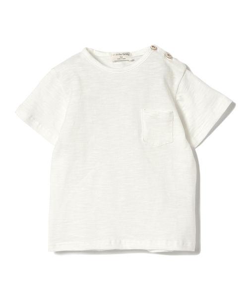 1+in the family / DOMENICO ポケット Tシャツ 19(1~4才)