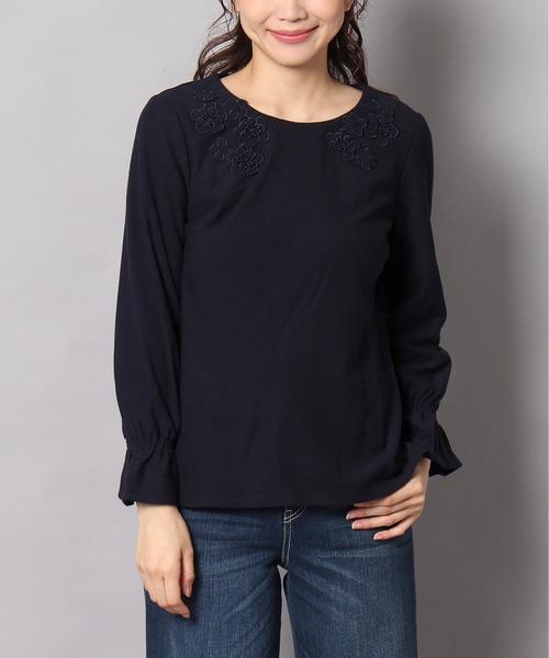 入園入学祝い フラワーモチーフプルオーバー(Tシャツ/カットソー)|Rose Rose Tiara(ローズティアラ)のファッション通販, イチマル:f4135d0d --- 5613dcaibao.eu.org