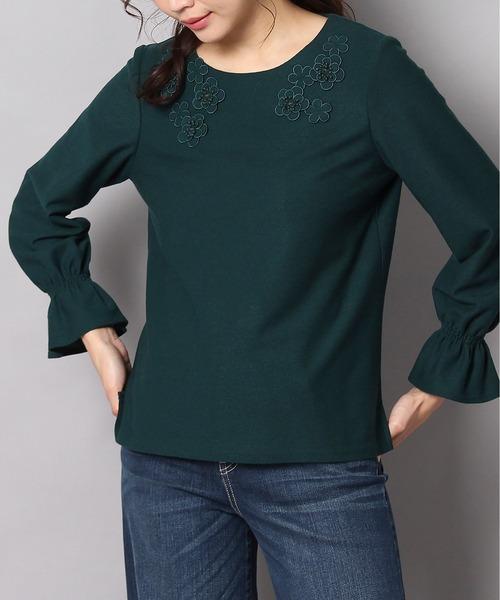 人気商品 フラワーモチーフプルオーバー(Tシャツ/カットソー) Rose|Rose Tiara(ローズティアラ)のファッション通販, ヤスヅカマチ:e37a273a --- 5613dcaibao.eu.org