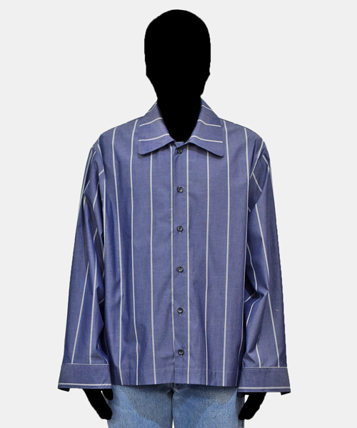 【あす楽対応】 【VOAAOV shirt】 stripe stripe box shirt blouson(シャツ Murron,ウォーレス/ブラウス) VOAAOV(ヴォアーブ)のファッション通販, スタイルデポ:4add79d1 --- tsuburaya.azurewebsites.net