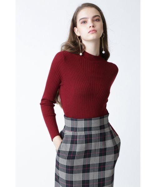 上品なスタイル モックネックRIBトップス(ニット/セーター)|PINKY&DIANNE(ピンキーアンドダイアン)のファッション通販, ベストプライス ラック:7a6de5b4 --- wm2018-infos.de