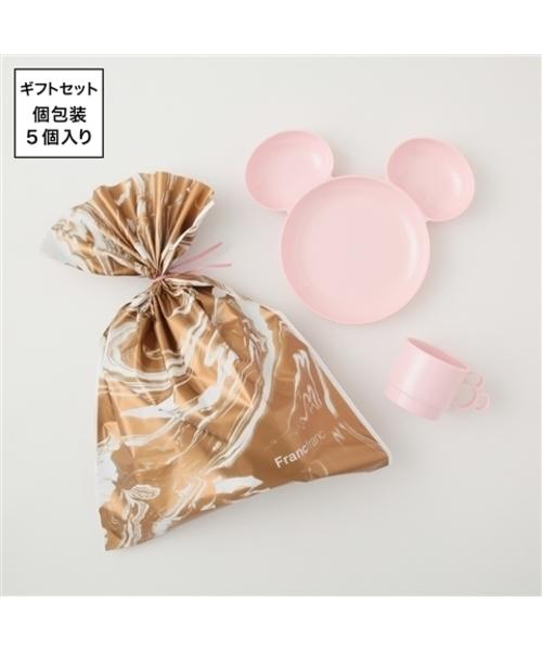 プチギフト<ディズニープレート&タンブラー ピンク 5セット>【WEB限定】