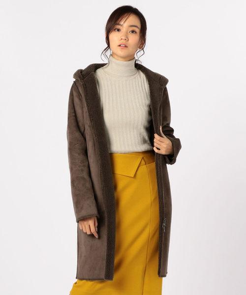 日本に 【セール】リバーシブルムートンコート(ムートンコート) アンド|fredy emue(フレディエミュ)のファッション通販, 綾歌郡:ddda80ff --- steuergraefe.de