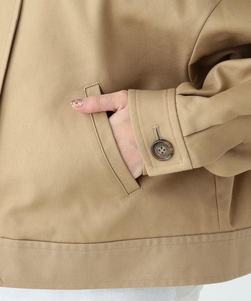 B:MING by BEAMS / 二重織り ポケットブルゾン 19SS