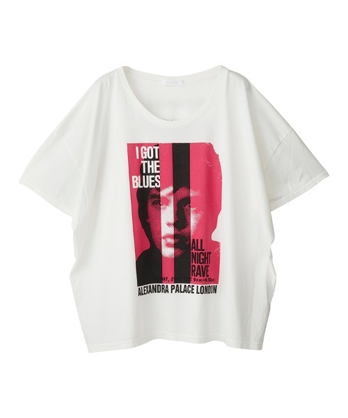 THE ROLLING STONES/ALL NIGHT RAVE オーバーサイズTシャツ