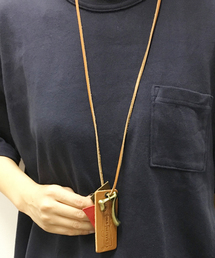OLD BETTY'S(オールドベティーズ)のLeather Charm Necklace/レザーチャームネックレス(ネックレス)