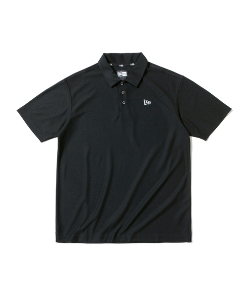 NEW ERA(ニューエラ)の「ニューエラ ゴルフ ポロシャツ HEX TECH NEW ERA GOLF(シャツ/ブラウス)」|ブラック
