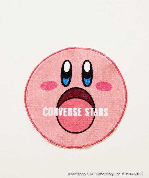 CONVERSE STARS(コンバーススターズ)の「【CONVERSE STARS×星のカービィ】コラボハンドタオル(ハンカチ/ハンドタオル)」|ピンク