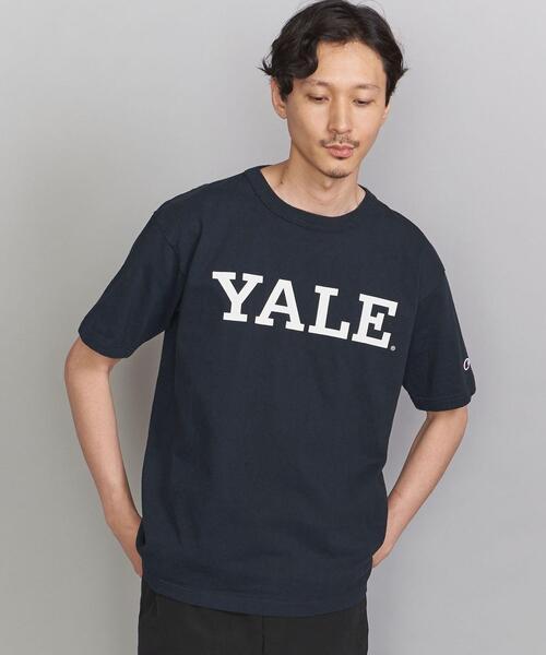 <CHAMPION (チャンピオン)>USA YALE TEE/Tシャツ