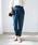 TIENS ecoute(ティアンエクート)の「両面起毛テーパードパンツ(パンツ)」|ブルー