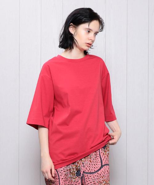 <H>BIG T-SHIRT/Tシャツ ◆