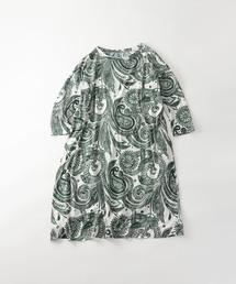 45R(フォーティファイブアール)のHopi Hopi更紗プリントのドレス(ワンピース)