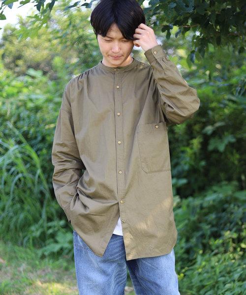 おすすめ スタンドカラーシャツ/ビッグシルエット/コットン100%(シャツ/ブラウス)|ADITIONAL(アディショナル)のファッション通販, ニシヤツシログン:0fc71392 --- skoda-tmn.ru
