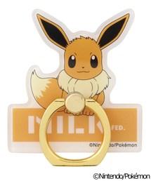 Pokemon SMARTPHONE RING FROM MILKFED.(モバイルアクセサリー)
