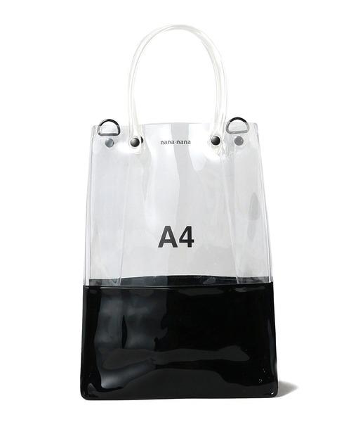【海外限定】 【WEB限定 ×】nana-nana OPAQUE/ PVC × OPAQUE A4(トートバッグ)|Ray PVC BEAMS(レイビームス)のファッション通販, タドツチョウ:b1d90fe7 --- wiratourjogja.com
