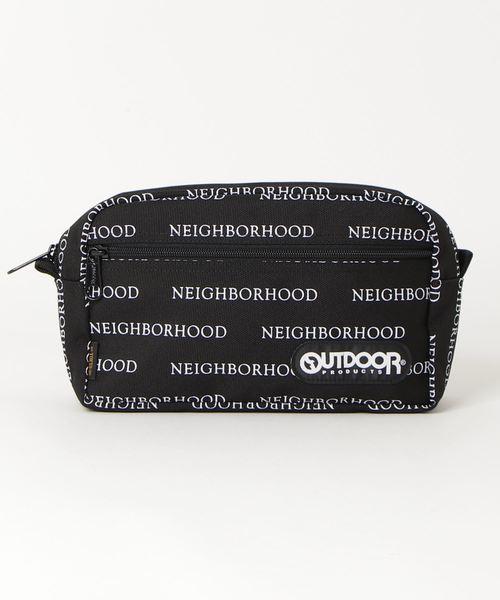 【NEIBORHOOD×OUTDOOR PRODUCTS】コラボレーション ポーチ 181167