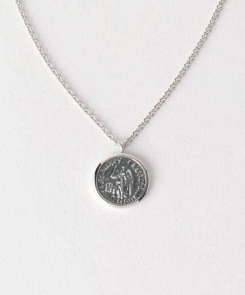〈TOM WOOD(トムウッド)〉 COIN PENDANT ANGEL