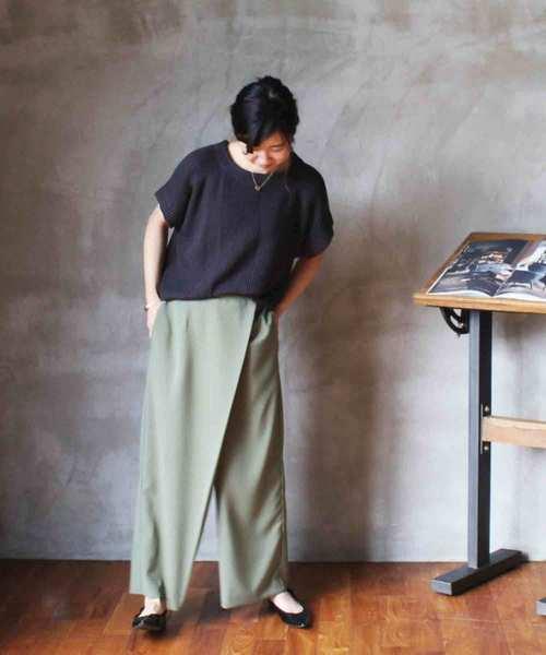 大特価!! 【セール】wrap wide nepre,コントラ pants KH(パンツ) pants contra bo bo nepre(コントラ ボ ネプレ )のファッション通販, ジョッキ:76df2062 --- incredible-filmfest.de