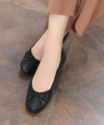 SESTO(セスト)の履き心地柔らかで足に馴染む、こなれフィットバレエシューズ/やわらかな素材が履くほどに馴染んでくるのも魅力/フラットパンプス(バレエシューズ)