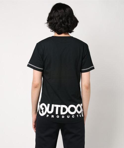OUTDOOR PRODUCTS(アウトドア プロダクツ)天竺レイヤードTシャツ